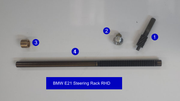 BMW E21 RHD Steering Rack
